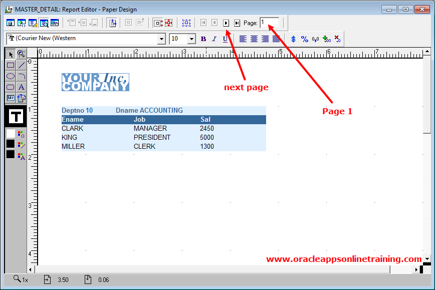 Online Training Oracle Applications